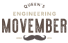 Queen's Eng Movember Logo