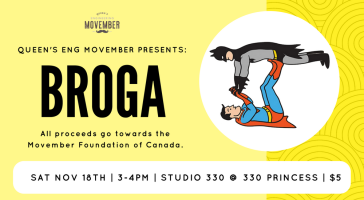 Movember Broga Cover Photo