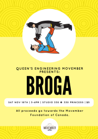 Movember Broga Poster