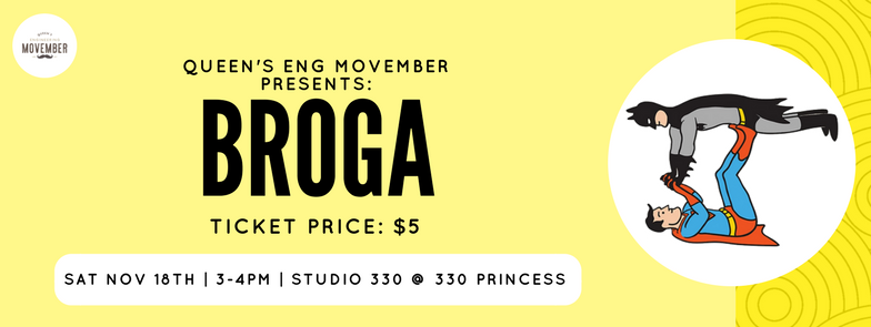 Movember Broga Ticket