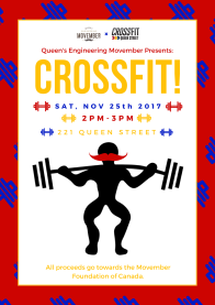 Movember Crossfit Poster
