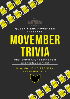 Movember Trivia Poster