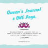 Queens Jornal x One Page